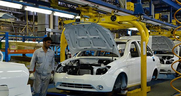 رکورد تولید خودرو در سایپا شکست