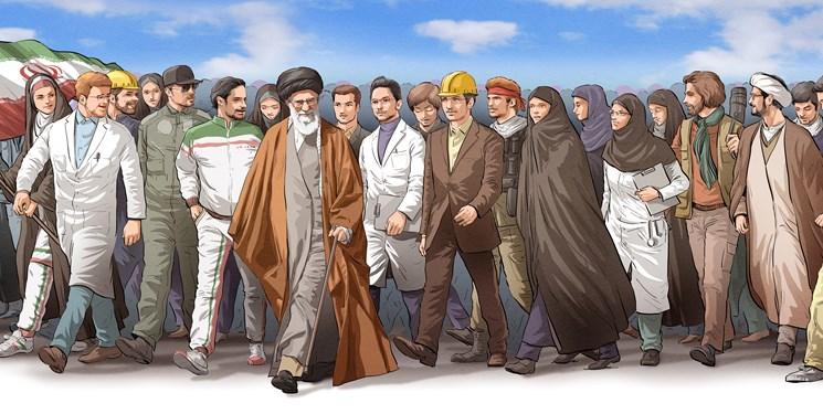 بیانیه مهم رهبر انقلاب به مناسب چهلمین سالروز پیروزی انقلاب