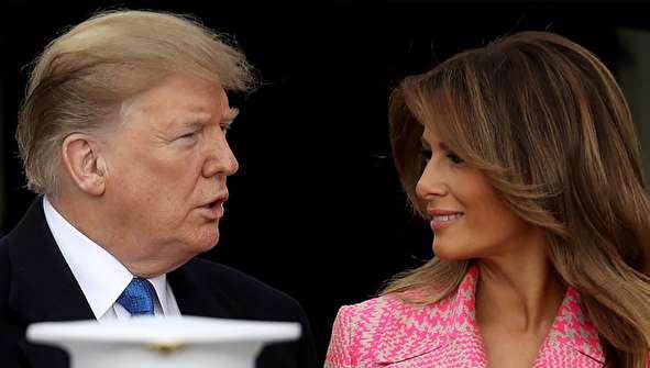 (تصاویر) استقبال ترامپ و ملانیا از رئیسجمهور کلمبیا و همسرش