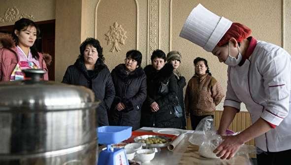 (تصاویر) مسابقه آشپزی در کره شمالی