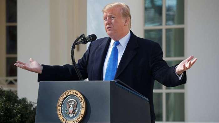 ترامپ: وضعیت اضطراری اعلام میکنم