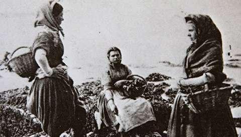 (تصاویر) دختران صیاد ۱۶۰ سال پیش