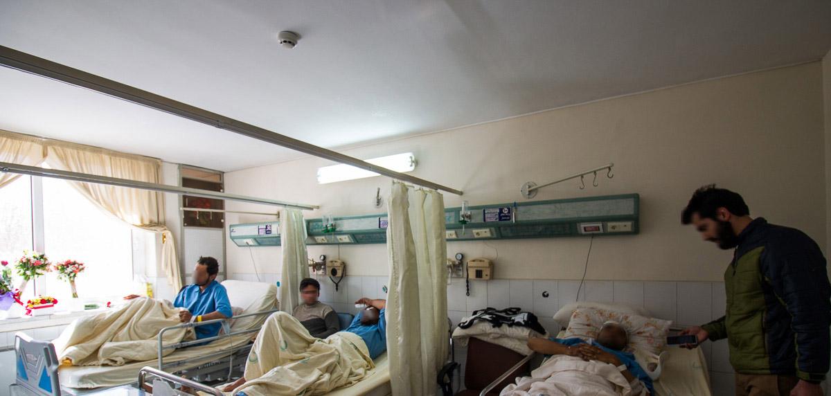 (تصویر) روایت مصدومان حادثه تروریستی خاش