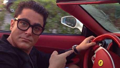 (ویدیو) خودروی مورد علاقه گلزار در دبی