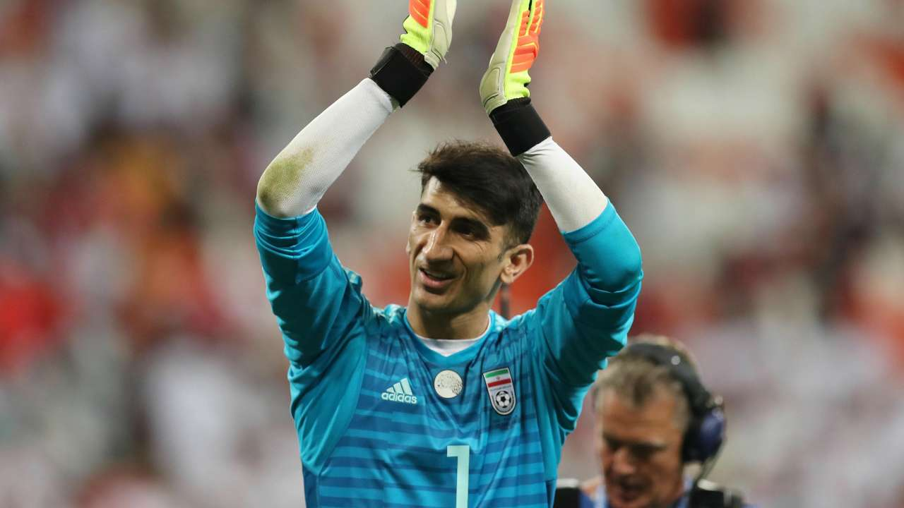بیرانوند در جمع ۱۰ نفر برتر یکهشتم نهایی جام ملتهای آسیا