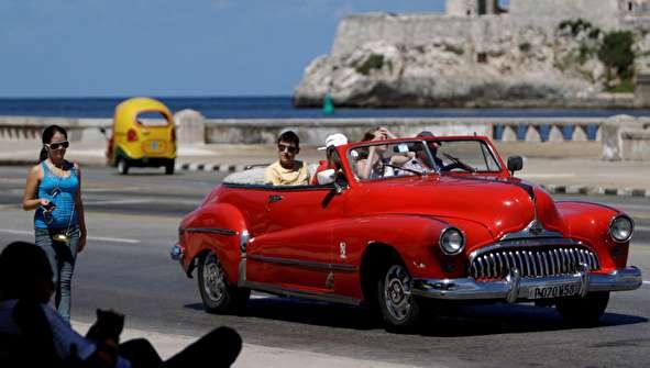 (تصاویر) عشق به خودروهای کلاسیک آمریکایی در کوبا!