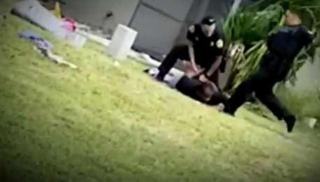 (ویدیو) تعقیب و گریز پلیس و مظنون از زاوایهای خاص!