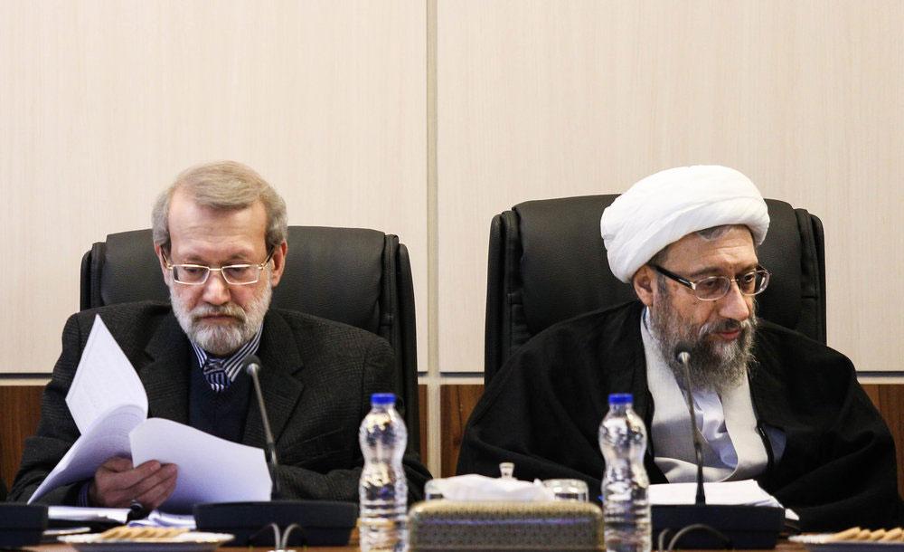 (تصاویر) حضور ظریف و غیبت روحانی در مجمع بررسی پالرمو