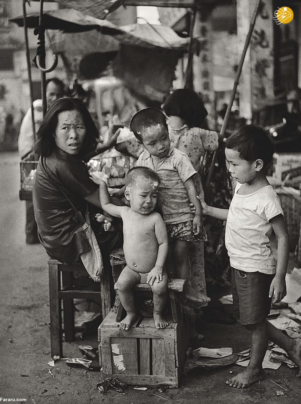 (تصاویر) وقتی که خبری از آسمانخراش در هنگ کنگ نبود