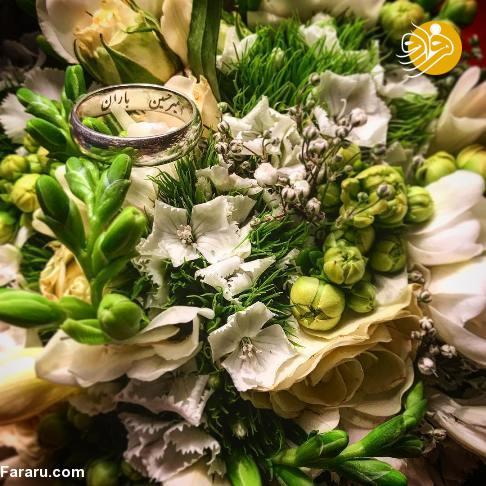 مرضیه برومند در مراسم ازدواج امیرحسین صدیق+عکس