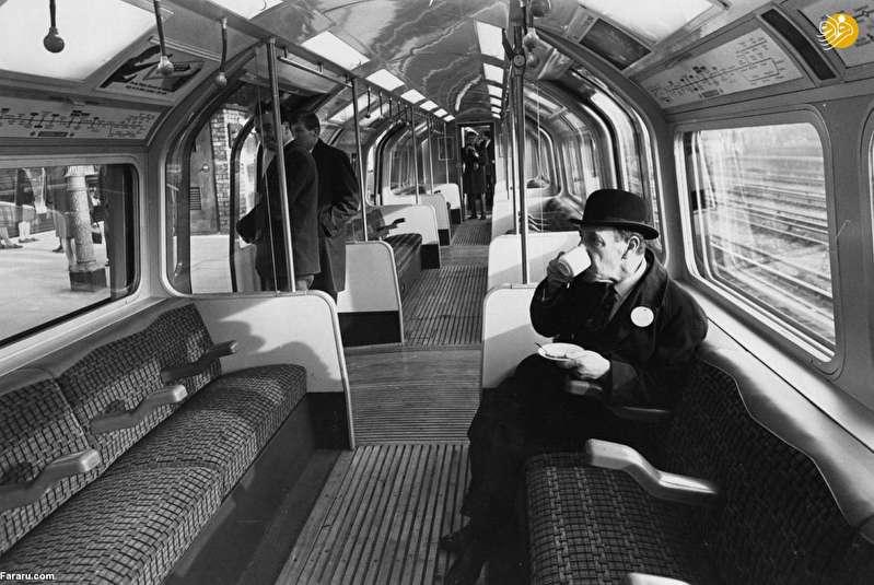 (تصاویر) مترو لندن ۱۵۶ سال قبل