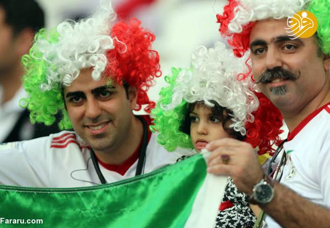 (تصاویر) شب تلخ هواداران ایران در امارات