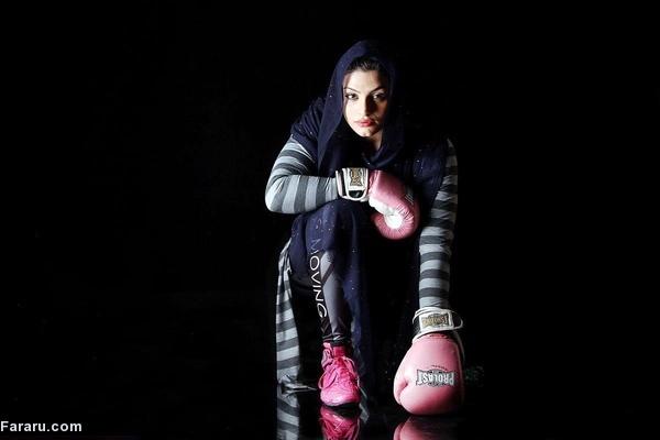 اتفاق تاریخی در ورزش زنان؛ دختر ایرانی در رینگ بوکس فرانسه