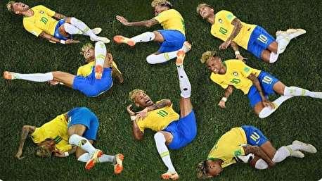 (ویدئو) تمارضهای مسخره در فوتبال!