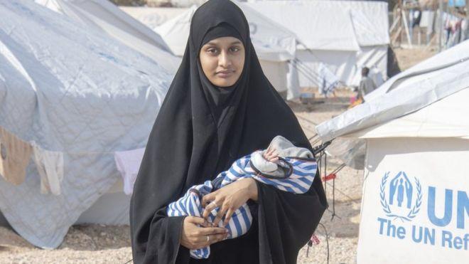 نوزاد عروس داعش، مرده است