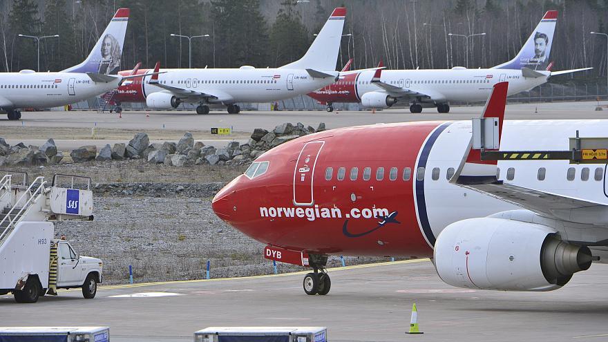 هواپیمای نروژی پس از دوماه و نیم تاخیر ایران را ترک میکند