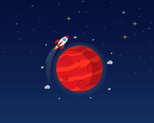 سفری مهیج به مریخ را تجربه کنید!