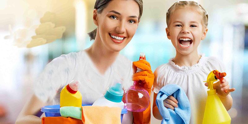 آموزش نظم به کودکان؛ خانهتکانی فرصت خوبیست!