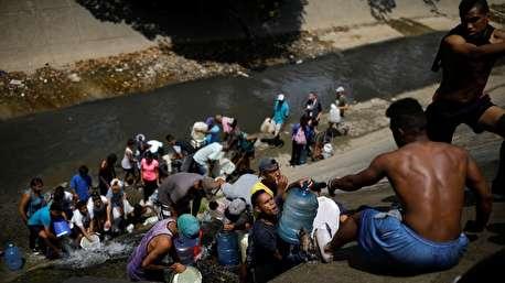 وضعیت مردم ونزوئلا پس از قطع آب لولهکشی