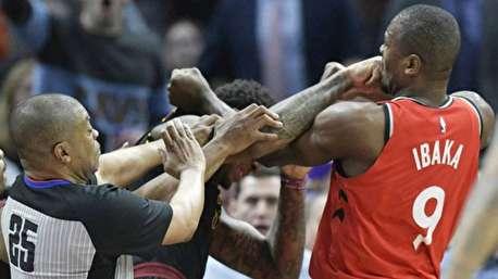 درگیری شدید در NBA