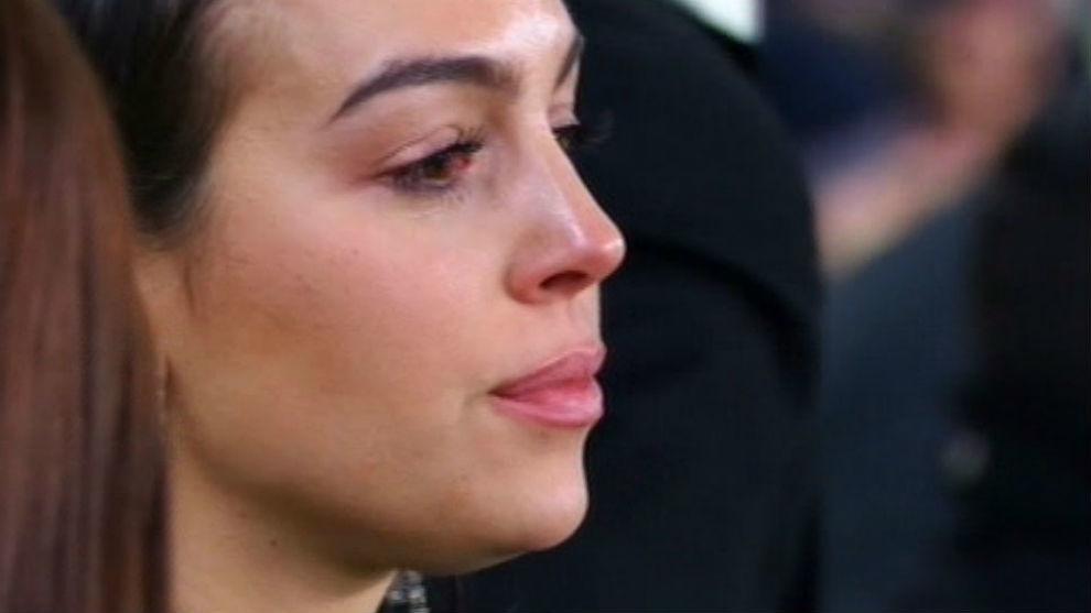 (تصاویر) وقتی همسر رونالدو هم احساساتی شد