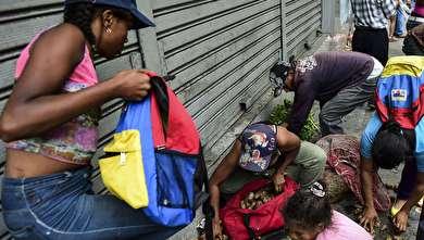 فاجعه قطع برق و کمیاب شدن آب و غذا در ونزوئلا