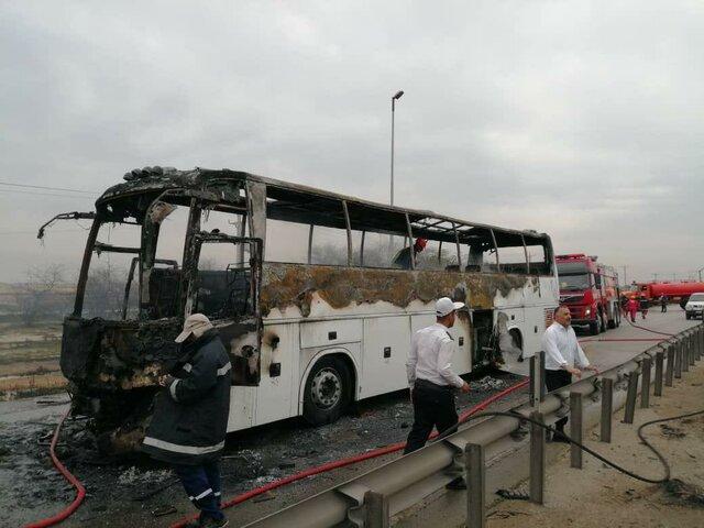 کشته شدن پنج نفر در انفجار لولههای گاز در آزادراه اهواز