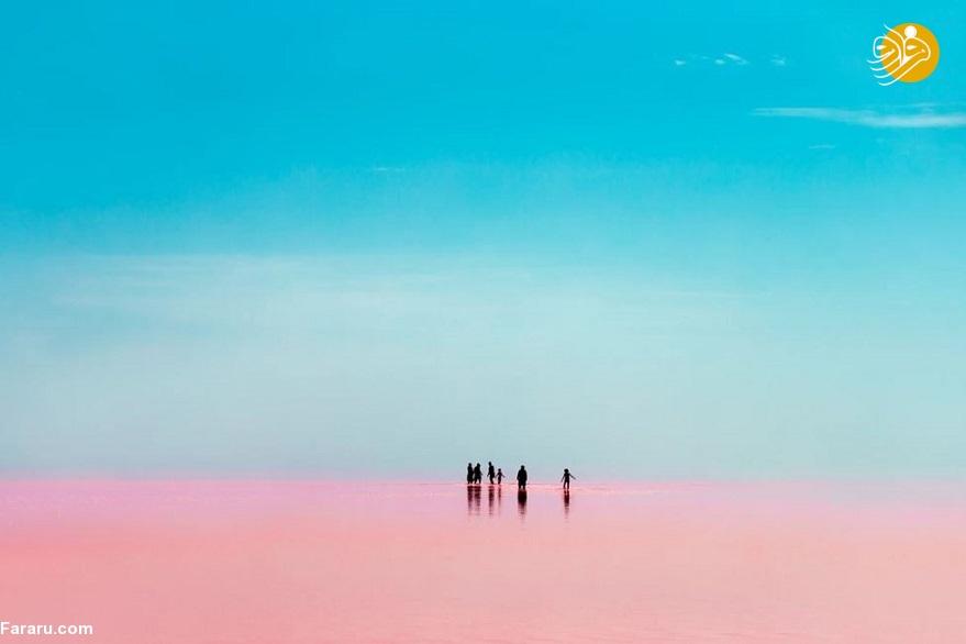 تصاویر شگفتانگیز از دریاچه ارومیه