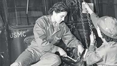 زنان نظامی در جنگ جهانی دوم