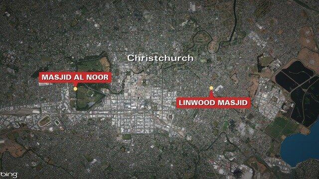تیراندازی به دو مسجد در نیوزیلند ۴۰ کشته و دهها زخمی برجای گذاشت