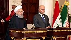 روحانی در بغداد؛ ایران و عراق تحتالشعاع تحریمهای آمریکا