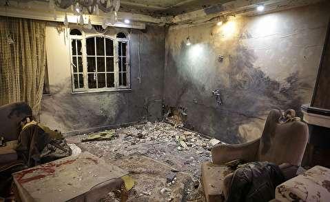(تصاویر) یک کشته در انفجار خانهای در مشهد