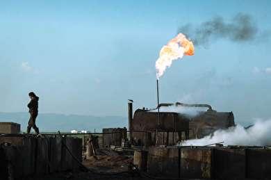 استخراج نفت به شیوه کُردهای سوریه!