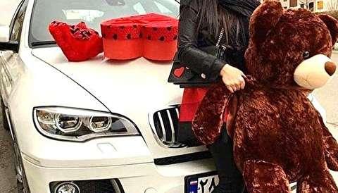 سرقت از دختر معروف اینستاگرامی با ماشین لاکچری!