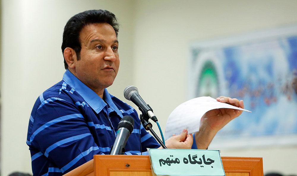 حسین هدایتی در دادگاه: یار و یاور جمهوری اسلامی بودم
