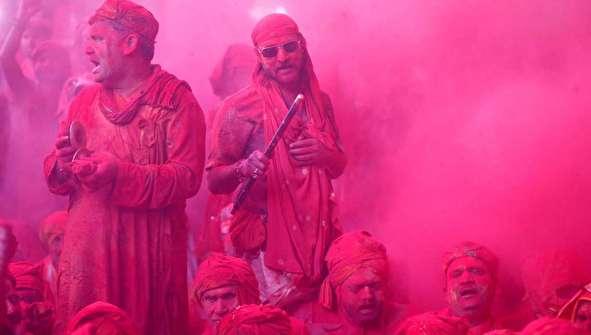(تصاویر) جشن رنگ هولی در هند