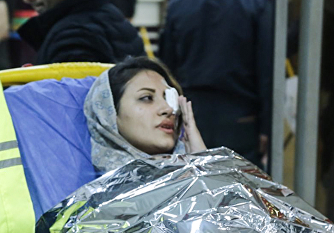 (تصاویر) مصدومان چهارشنبه سوری
