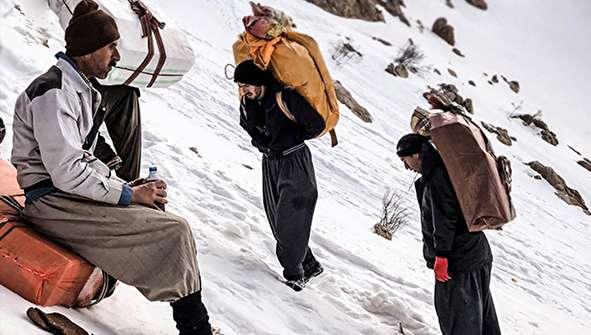 (تصاویر) گزارش رسانه کُردی از وضعیت کولبران