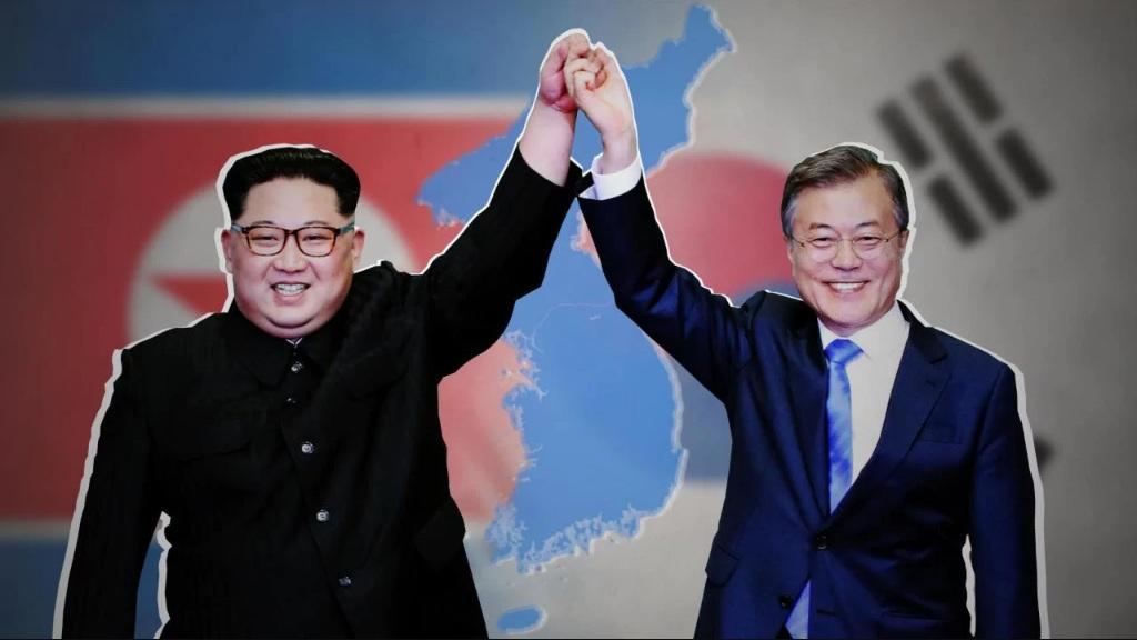 کره شمال کره جنوبی