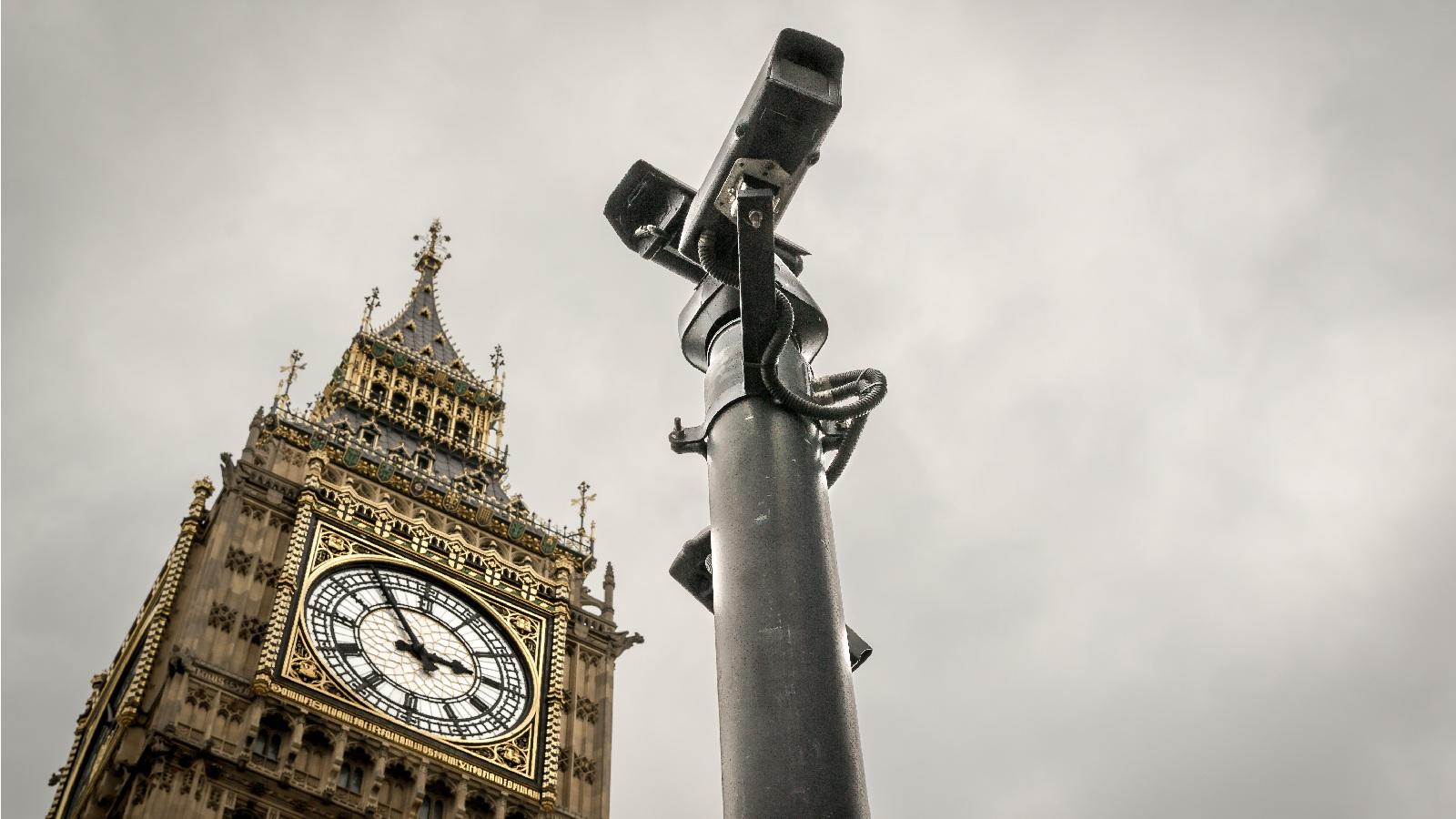 لندن؛ شهر دوربینهای مدار بسته