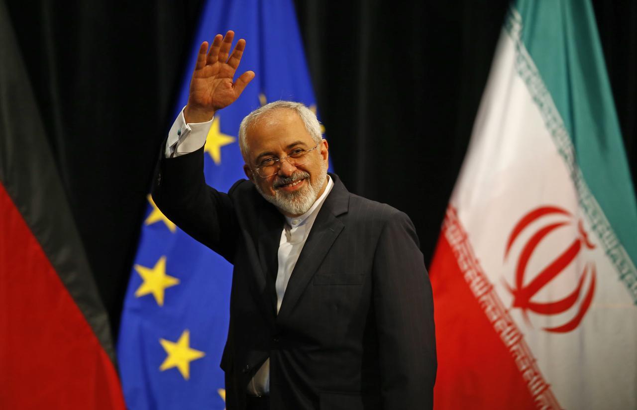 پیامک ظریف پس از استعفا