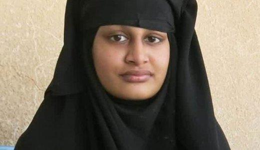 بازگشت عروس داعشی به انگلیس