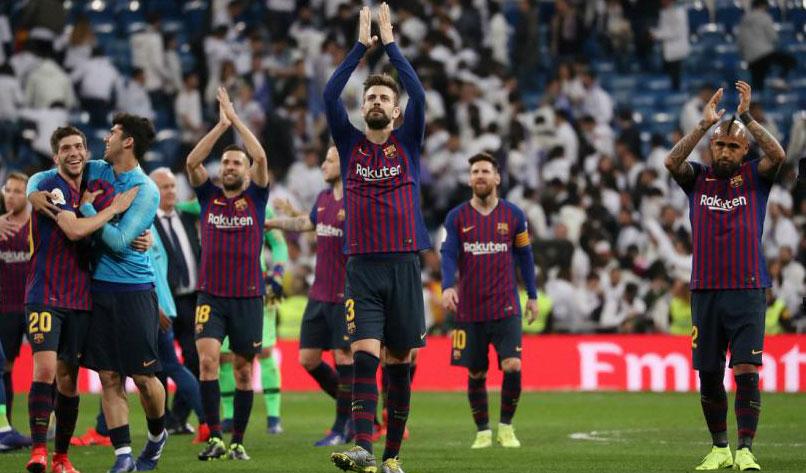 شکست سنگین رئال مادرید در الکلاسیکو