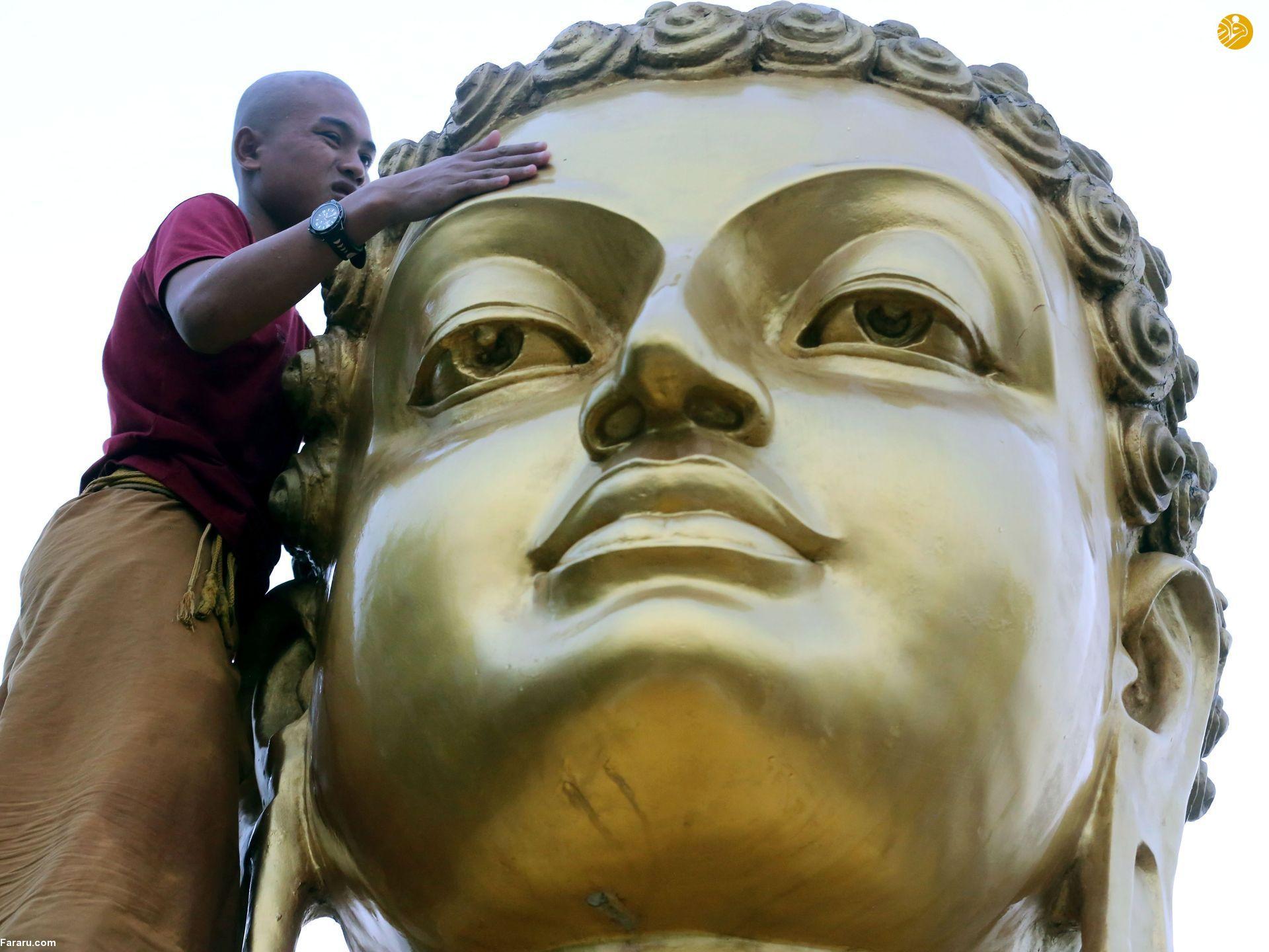 (تصاویر) مراسم با شکوه زادروز بودا