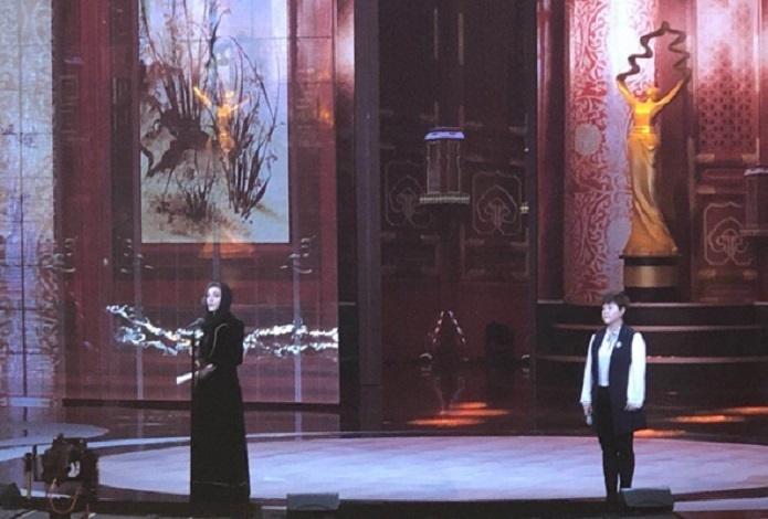 (تصویر) درخشش بازیگر زن ایرانی در چین