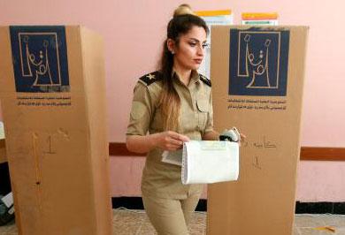 (تصاویر) اولین انتخابات عراق پس از داعش