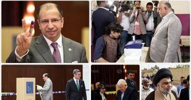العبادی و هادی العامری پیشتاز انتخابات عراق