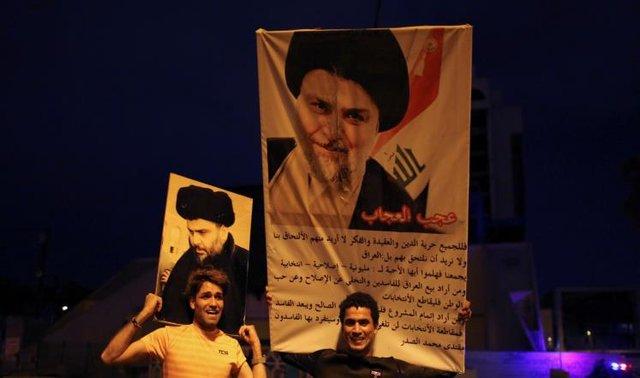 مقتدی صدر به پیروزی نهایی در انتخابات عراق نزدیکتر شد