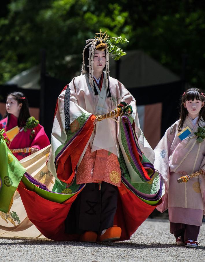 (تصاویر) کارناوال سامورائیها در خیابانهای کیوتو