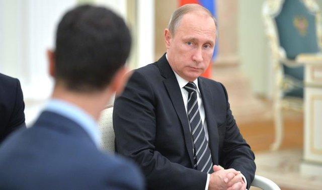 پیشنهاد غرب به پوتین برای عدم حمایت از اسد